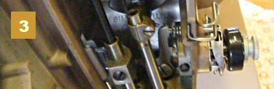 Нарушение работы узлов швейной машинки