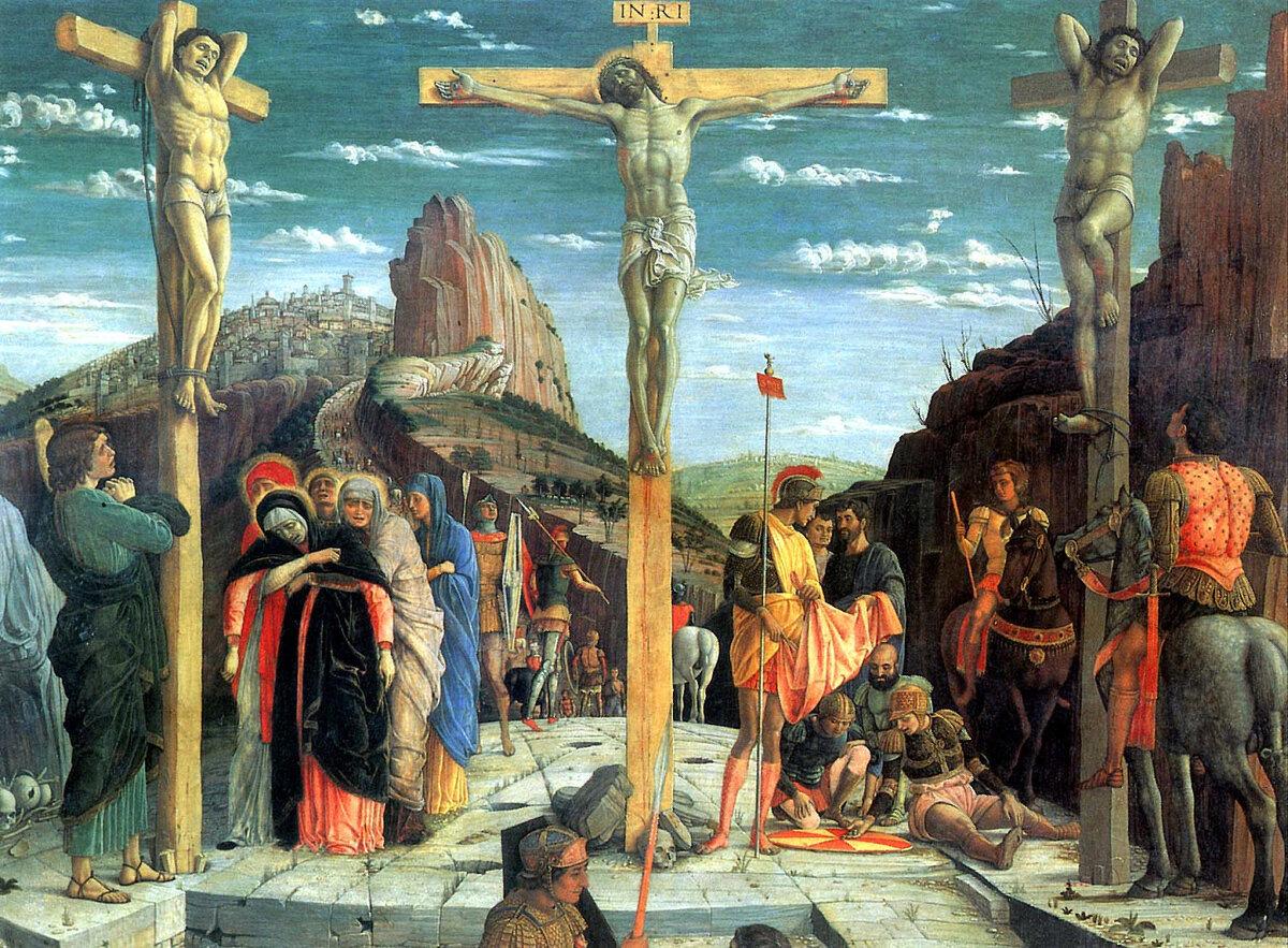 """""""Стоим у Креста и молчим. Вот Он - прибитый гвоздями"""""""