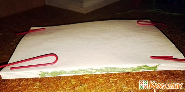 Как сделать блокнот своими руками из состаренной бумаги