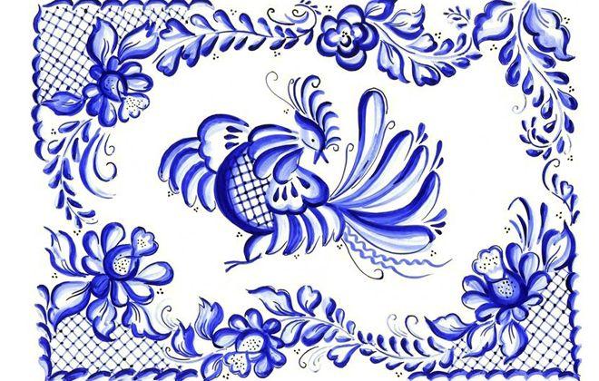 Гжельская роспись – что это такое, история возникновения, особенности и техника росписи