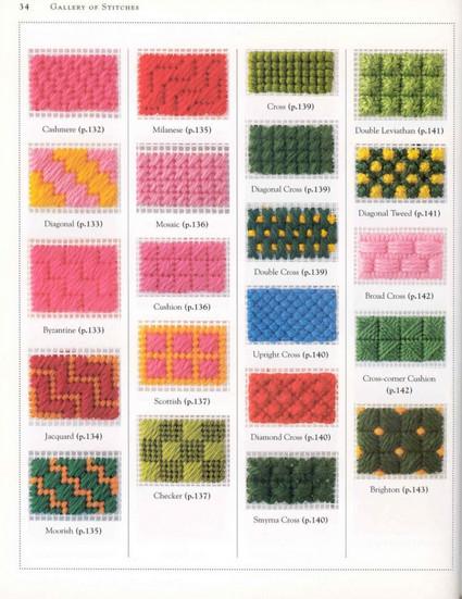В копилку рукодельницам: большая коллекция стежков для вышивки…