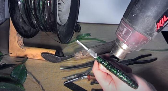 Как сделать из ПЭТ бутылки новенькие рукоятки для инструмента