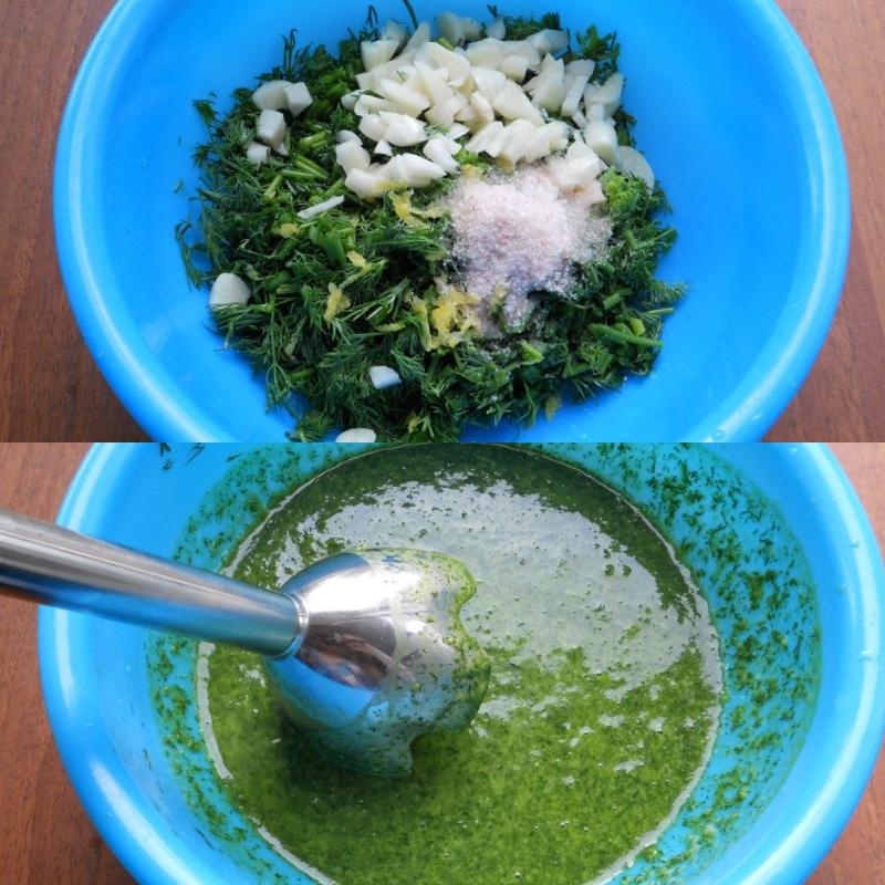 Укропный соус: теперь любимая ароматная зелень доступна круглый год