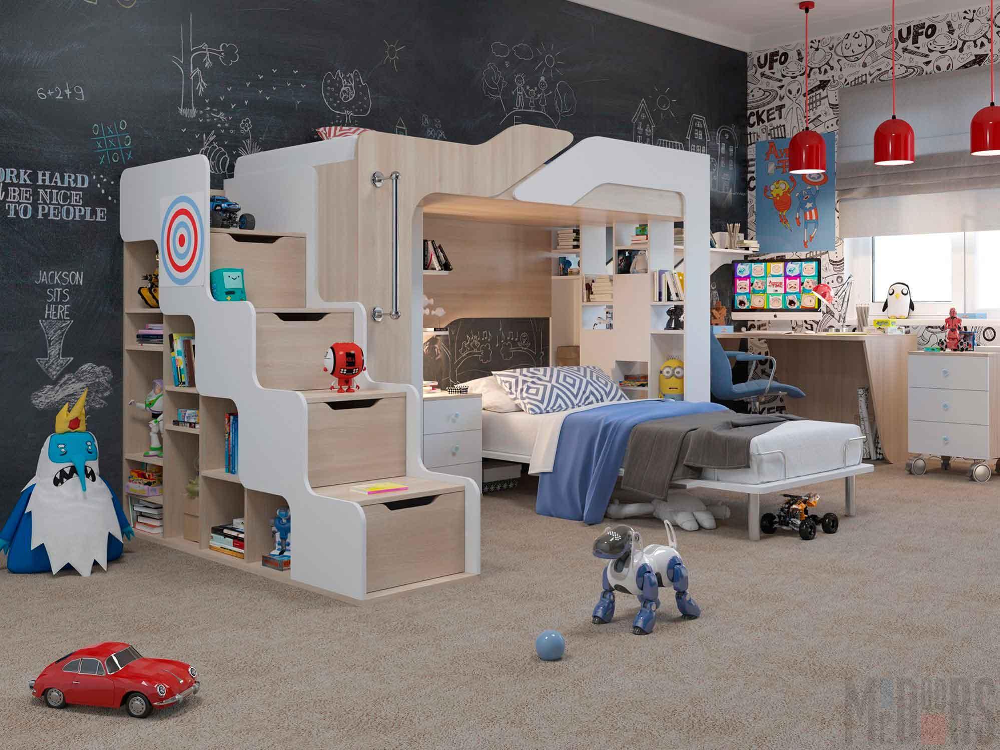 креативный дизайн в детской